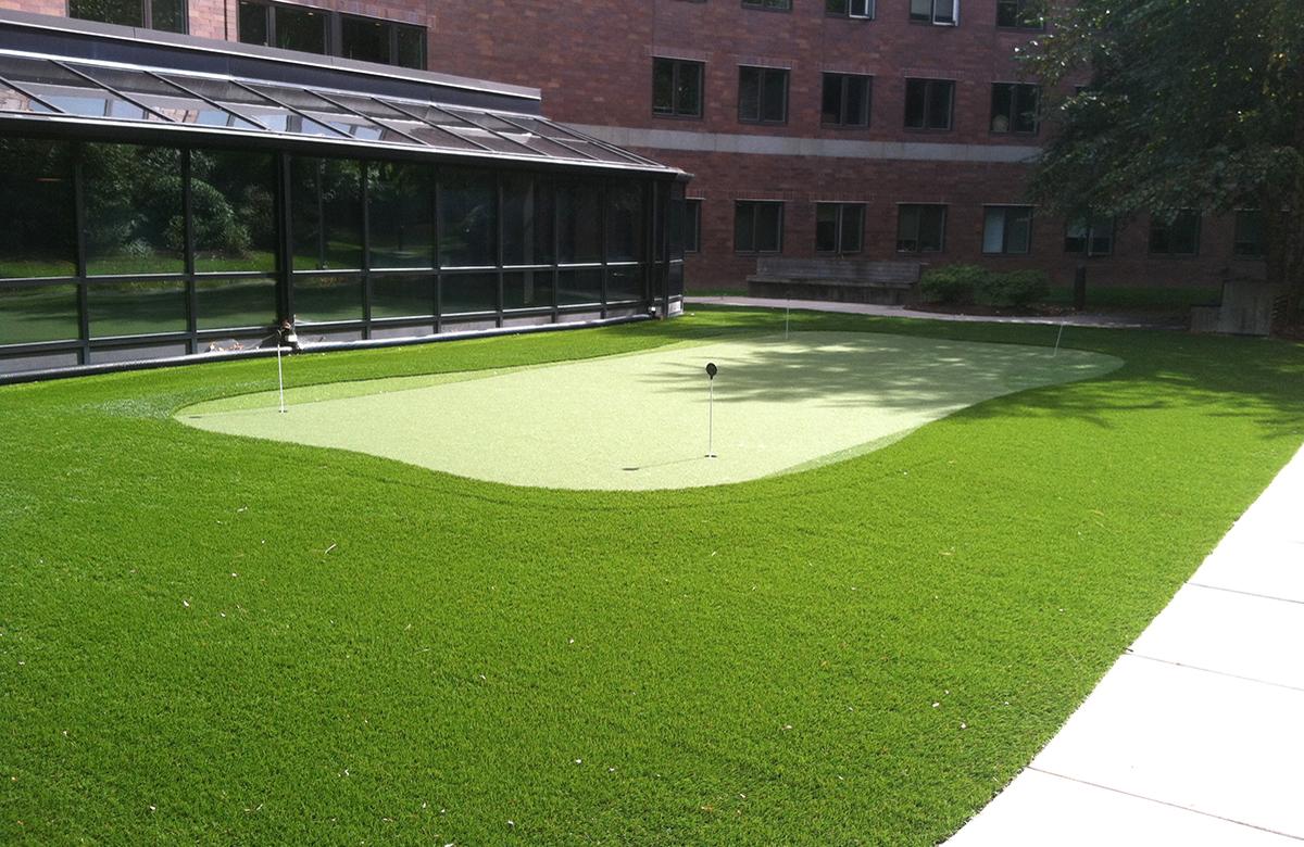 synthetic putting green installation u0026 repair ct tjb inc